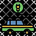 Electric Car Hybrid Car Eco Friendly Icon