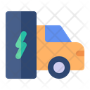 Electric Car Car Battery Icon