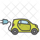 Electric Car Car Electric Vehicle Icon