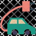 Car Charging Vehicle Icon