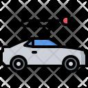 Electric Car Icon