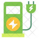 Electric Charging Station Icon