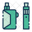 Electric Cigarette Icon