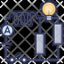 Electric Circuit Icon