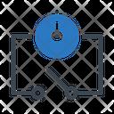Circuit Time Electric Icon