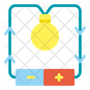 Electric Current Electricity Flash Icon