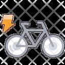 Electric Bike Smart Bike Bike Icon