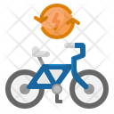 Electric Cycle Electric Cycle Icon