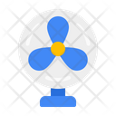 Electric Fan Cooler Icon