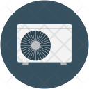 Electric Fan Heating Icon
