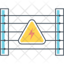 Electric Fence High Voltage Protect Icon