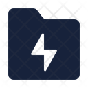 Electric Folder Icon