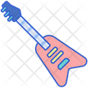 Electric Guitar Guitar Chordophone Icon