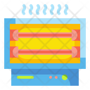 Electric Heater Heater Warm Icon