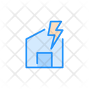 Electric Home Icon