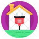 Home Charging Electric Home Electric House Icon