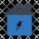 Power Energy House Icon