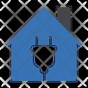 House Energy Green Icon