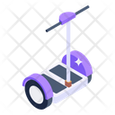 Electric Hoverboard Standing Scooter Electric Scooter Icon