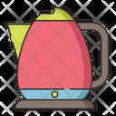 Electric Kettle Tea Kettle Kitchen Application Icon