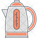 Electric Kettle Boiler Coffee Icon