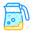 Electric Kettle Color Icon