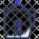 Electric Kettle Appliance Tea Pot Icon