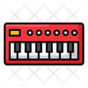 Electric Keyboard Piano Electrical Instrument Icon