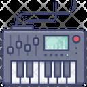 Electric Keyboard Icon