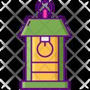 Melectric La Electric Lantern Lamp Post Icon