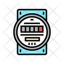 Electric Meter Color Icon