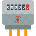 Energy Counter Power Icon
