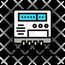 Electric Meter Monitoring Electric Meter Icon