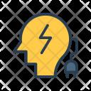 Mind Flash Electric Icon