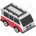 Electric Minibus Icon