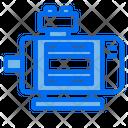 Electric Motor Electronics Icon