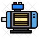 Electric Motor Electronics Icon