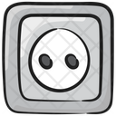 Socket Electric Outlet Wall Socket Icon