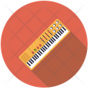 Electric Keyboard Synthesizer Icon