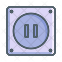 Electronic Receptacle Home Icon