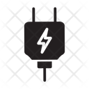Connector Ecology Electric Icon