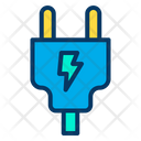 Connection Electric Plug Icon
