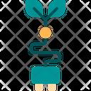 Electric Plug Eco Energy Electric Icon