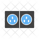 Electric plugs Icon