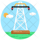 Electric Tower Electric Pole Electric Post Icon