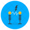 Transmission Towers Electric Towers Current Towers Icon