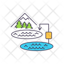 Electric Power Electric Power Systems Load Balancing Icon