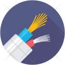 Electric Power Cable Icon