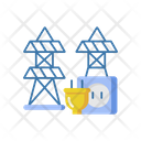 Electric Power Station Icon