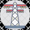 Electric Tower Pylon Icon
